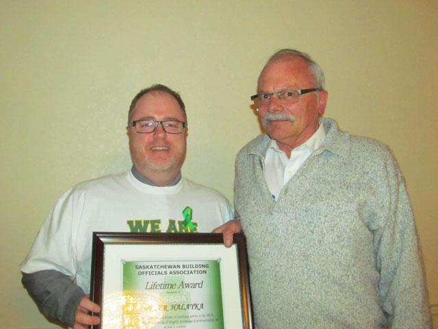 Peter Halayka made an honorary member